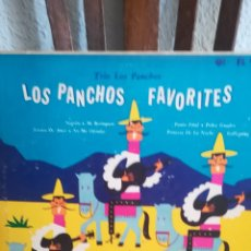 Discos de vinilo: DISCO DE TRIO LOS PANCHOS DE 1950. Lote 168693858