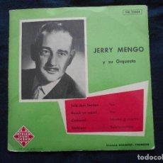 Discos de vinilo: JERRY MENGO Y SU ORQUESTA. Lote 168704484
