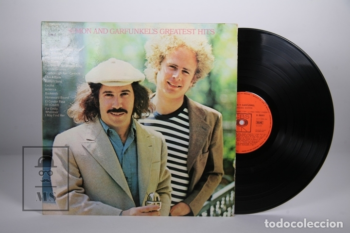 DISCO LP DE VINILO - SIMON AND GARFUNKEL'S / GREATEST HITS - CBS - 1972 (Música - Discos - LP Vinilo - Pop - Rock - Extranjero de los 70)