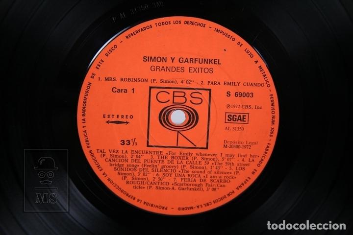 Discos de vinilo: Disco LP De Vinilo - Simon and Garfunkels / Greatest Hits - CBS - 1972 - Foto 2 - 168705426