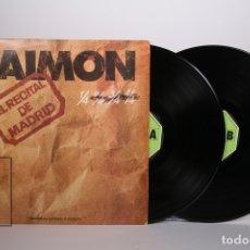 Discos de vinilo: DOBLE DISCO LP DE VINILO- RAIMON / EL RECITAL DE MADRID - MOVIEPLAY 1976 - PORTADA ABIERTA + LIBRETO. Lote 168705486