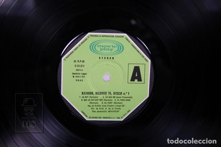 Discos de vinilo: Doble Disco LP De Vinilo- Raimon / El Recital de Madrid - Movieplay 1976 - Portada Abierta + Libreto - Foto 2 - 168705486
