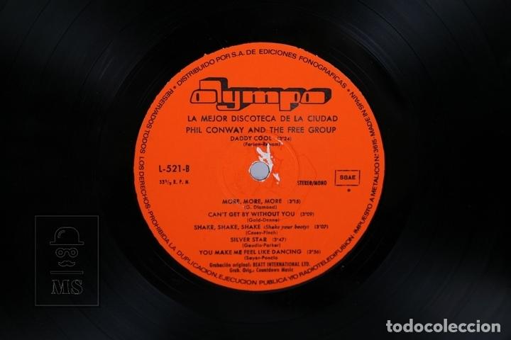 Discos de vinilo: Disco LP De Vinilo- Phil Conway And The Free Group / La Mejor Discoteca de la Ciudad - Olympo 1977 - Foto 2 - 168705812