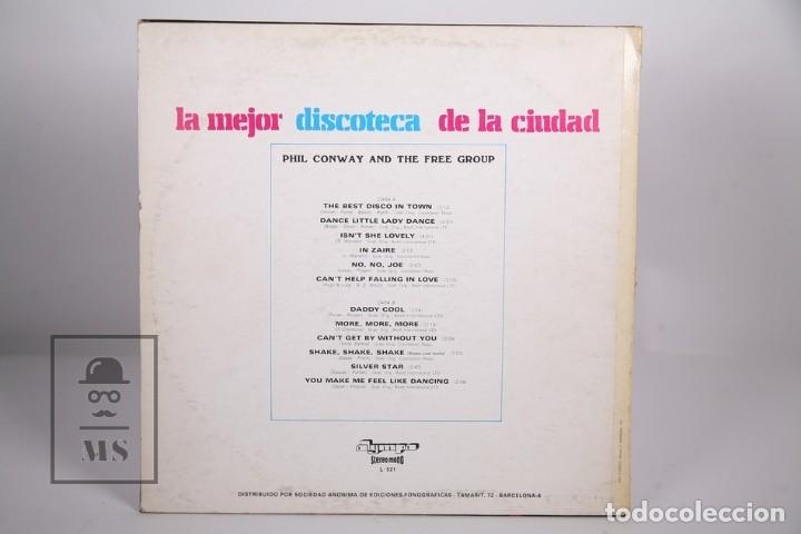 Discos de vinilo: Disco LP De Vinilo- Phil Conway And The Free Group / La Mejor Discoteca de la Ciudad - Olympo 1977 - Foto 3 - 168705812