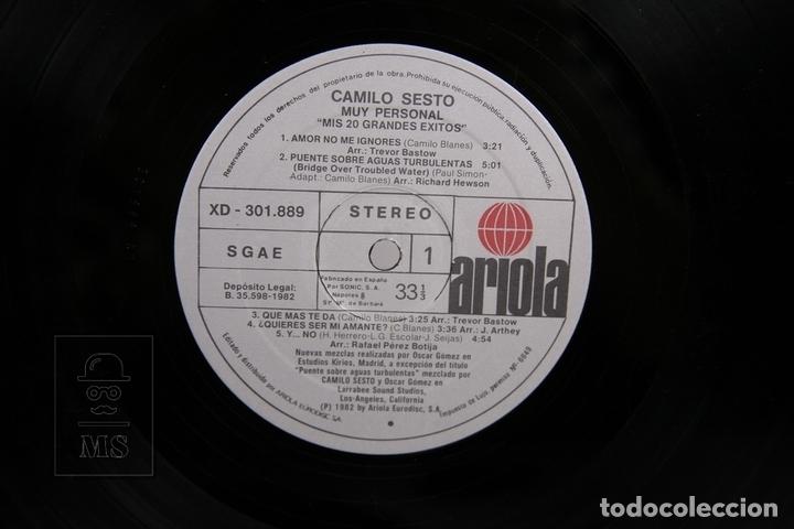 Discos de vinilo: Doble Disco LP De Vinilo - Camilo Sesto / Muy Personal - Ariola - Año 1982 - Portada Abierta - Foto 2 - 168705968