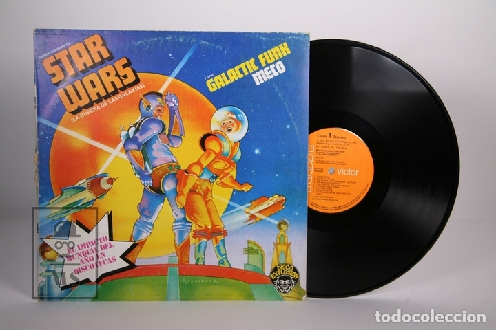 DISCO LP DE VINILO - STAR WARS / GALACTIC FUNK MECO - RCA / MILLENNIUM - AÑO 1977 (Música - Discos - LP Vinilo - Disco y Dance)
