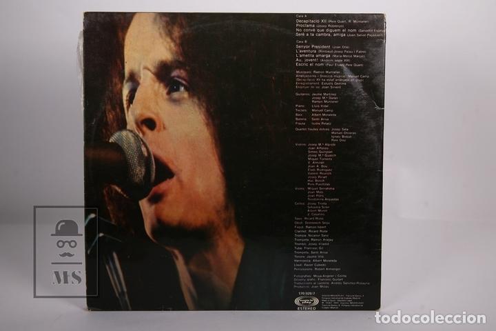 Discos de vinilo: Disco LP De Vinilo - Ramon Muntaner / Croniques - Movieplay - Año 1977 - Portada Abierta - Foto 4 - 168706186