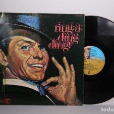 Discos de vinilo: DISCO LP DE VINILO - FRANK SINATRA / RING A DING DING! - REPRISE - AÑO 1971. Lote 168706280