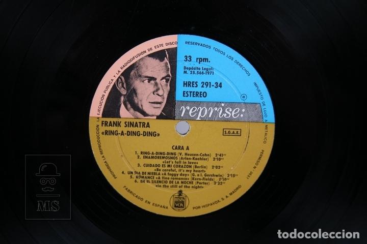 Discos de vinilo: Disco LP De Vinilo - Frank Sinatra / Ring A Ding Ding! - Reprise - Año 1971 - Foto 2 - 168706280