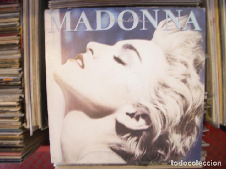 MADONNA- TRUE BLUE. LP. (Música - Discos - LP Vinilo - Pop - Rock - New Wave Extranjero de los 80)