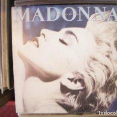Discos de vinilo: MADONNA- TRUE BLUE. LP.. Lote 168707232