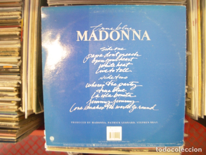 Discos de vinilo: MADONNA- TRUE BLUE. LP. - Foto 2 - 168707232