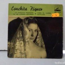 Discos de vinilo: CONCHITA PIQUER . Lote 168720504