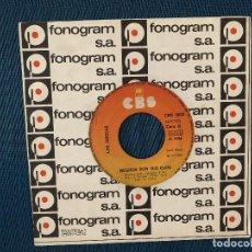 Discos de vinilo: LAS GRECAS – SOY LA QUE SUFRE POR TU AMOR SELLO: CBS – CBS 3652 FORMATO: VINYL, 7 , 45 RPM . Lote 168725064