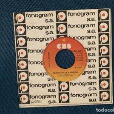 Discos de vinilo: ANA Y JOHNNY ?– YO TAMBIÉN NECESITO AMAR SELLO: CBS ?– CBS 4266 FORMATO: VINYL, 7 , 45 RPM, SINGLE. Lote 168726416