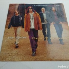 Discos de vinilo: SINGLE/THE POSIES/FLAVOR OF THE MONTH/VINILO MALVA.. Lote 168727028