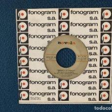 Discos de vinilo: SERGIO Y ESTIBALIZ ?– PIEL / ANABEL SELLO: NOVOLA ?– NOX - 221 FORMATO: VINYL, 7 , SINGLE PAÍS: SPA. Lote 168727576