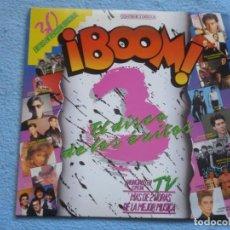 Discos de vinilo: BOOM 3,VARIOS DEL 87 2 LP MIRAR FOTOS. Lote 168731040