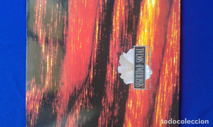 VINILO SEGURIDAD SOCIAL (Música - Discos - Singles Vinilo - Grupos Españoles de los 90 a la actualidad)