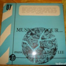 Discos de vinilo: WILLY LEE. MUSIC FOR...RADIO AND T.V. MONTPARNASSE, EDC. FRANCIA. PROMACIONAL. IMPECABLE. (#). Lote 168739792