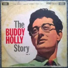 Discos de vinilo: BUDDY HOLLY. THE BUDDY HOLLY STORY VOL. II. CORAL, UK 1960 LP MONO (LVA 9127). Lote 168749180