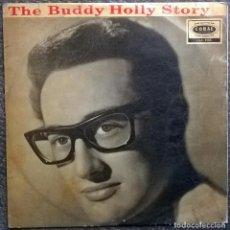 Discos de vinilo: BUDDY HOLLY & CRICKETS. THE BUDDY HOLLY STORY. CORAL, UK 1958 LP MONO (LVA.9105). Lote 168749816