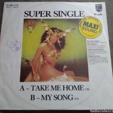 Discos de vinilo: CHER - TAKE ME HOME. EDICION ALEMANA. Lote 168753866