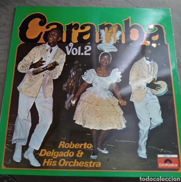 ROBERTO DELGADO & HIS ORCHESTRA - CARAMBA (Música - Discos - LP Vinilo - Orquestas)