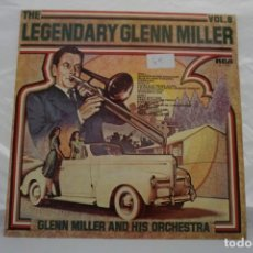 Discos de vinilo: VINILO LP - THE LEGENDARY GLENN MILLER VOL. 8 GLENN MILLER AND HIS ORCHESTRA. Lote 168780304