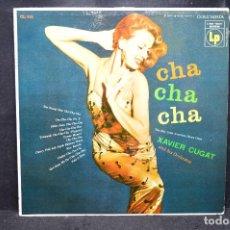 Discos de vinilo: XAVIER CUGAR AND HIS ORCHESTRA - CHA CHA CHA - LP. Lote 168782132
