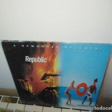 Discos de vinilo: NEW ORDER REPUBLIC LP ORIGINAL 1993 LEER. Lote 168784268