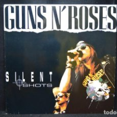 Discos de vinilo: GUNS N' ROSES - SILENT SHOTS - LP. Lote 168785048