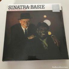 Discos de vinilo: FRANK SINATRA / COUNT BASIE - AN HISTORIC MUSICAL FIRST (1963) - LP REEDICIÓN DOL 2015 NUEVO. Lote 168803012