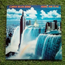Discos de vinilo: CLIMAX BLUES BAND - FLYING THE FLAG, WARNER, 1980. GERMANY.. Lote 168803976