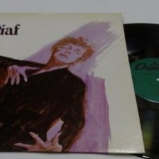 Discos de vinilo: EDITH PIAF THE BEST OF IMMORTAL LTTLE SPARROW OF FRACE USA.LP. Lote 168810604