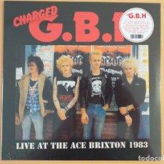 Discos de vinilo: G.B.H. GBH - LIVE AT THE ACE BRIXTON 1983 (LP) PRECINTADO !!!!!. Lote 168810772
