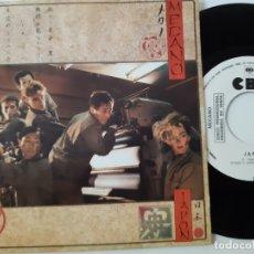 Discos de vinilo: MECANO- JAPON - SINGLE SIDED PROMO 1984 - EXC. ESTADO.. Lote 168828932