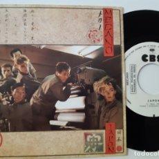 Discos de vinilo: MECANO- JAPON - SINGLE SIDED PROMO 1984 - EXC. ESTADO.. Lote 168828992