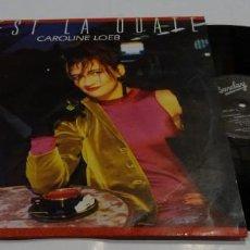 Discos de vinilo: CEST LA OUATE CAROLINE LOEB C EST LA OUATE MAXI 1986. Lote 168839016