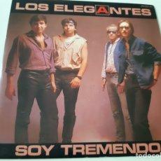 Discos de vinilo: LOS ELEGANTES- SOY TREMENDO - SINGLE PROMOCIONAL 1985 - VINILO COMO NUEVO.. Lote 168841580