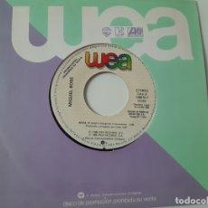 Discos de vinilo: MIGUEL BOSE- NENA - SINGLE PROMOCIONAL 1986- VINILO COMO NUEVO.. Lote 168846272