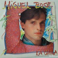 Discos de vinilo: MIGUEL BOSE- LA CHULA - SINGLE PROMOCIONAL SIDED 1983- VINILO COMO NUEVO.. Lote 176829565