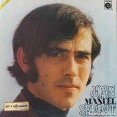 Discos de vinilo: JOAN MANUEL SERRAT. LP ORIGINAL DEL AÑO 1969 EN NOVOLA CON PORTADA DOBLE O ABIERTA. Lote 168853196
