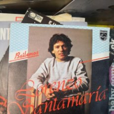 Discos de vinilo: LORENZO SANTAMARIA - BAILEMOS - SINGLE. Lote 168858332