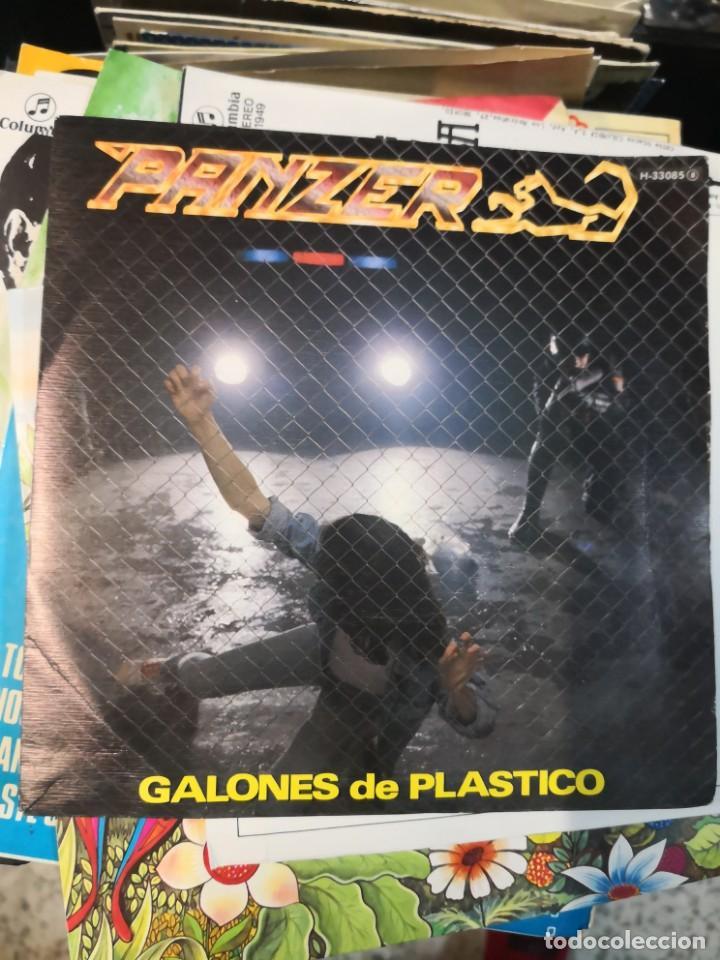 SG PANZER : GALONES DE PLASTICO (PROMO) (Música - Discos - Singles Vinilo - Heavy - Metal)