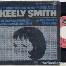 Discos de vinilo: KEELY SMITH ( THE BEATLES ) / EP 45 RPM / EDITADO HISPAVOX 1965 ESPAÑA. Lote 168863796