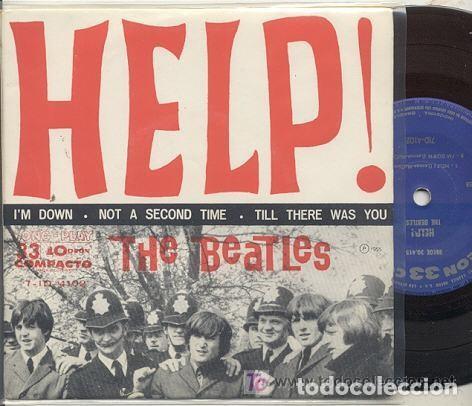 THE BEATLES / I'M DOWN / EP 33 RPM // EDITADO ODEON BRASIL (Música - Discos de Vinilo - EPs - Pop - Rock Extranjero de los 50 y 60)