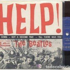 Discos de vinilo: THE BEATLES / I'M DOWN / EP 33 RPM // EDITADO ODEON BRASIL. Lote 168864076