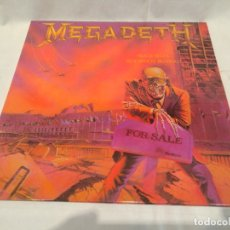 Discos de vinilo: MEGADETH -PEACE SELLS... BUT WHO'S BUYING?- (1986) LP DISCO VINILO. Lote 168865928