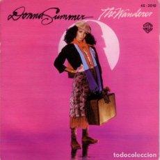 Discos de vinilo: DONNA SUMMER, THE WANDERER - SINGLE SPAIN 1980. Lote 194349985